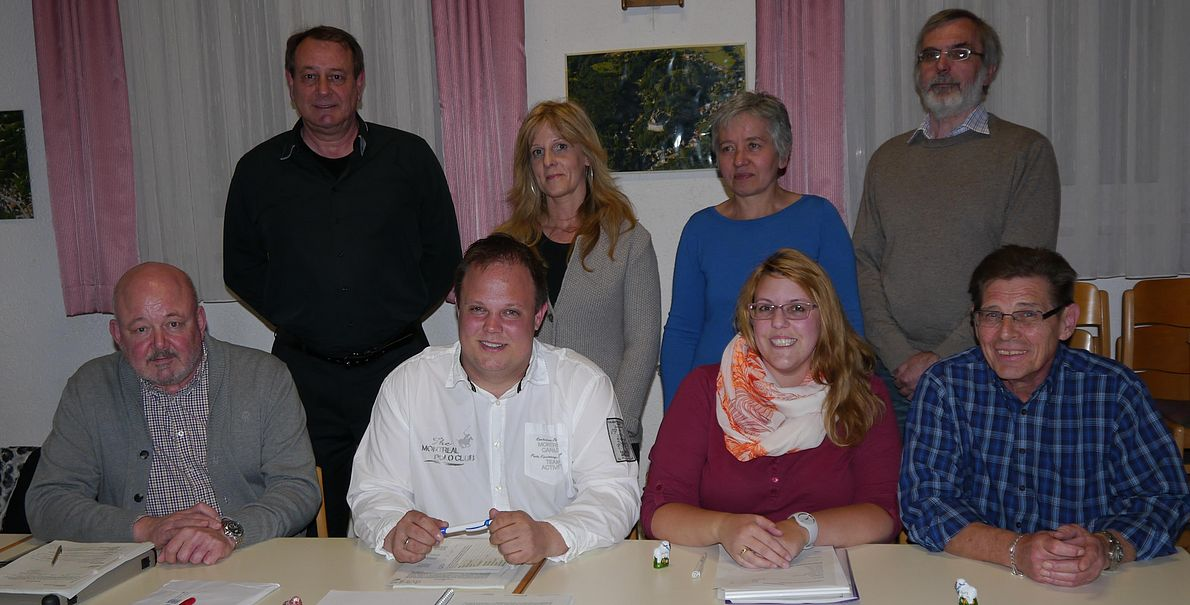 Der Ortsbeirat von Schönberg nach der Kommunalwahl am 6. März 2016