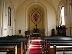 Evangelische Kirche Innenansicht