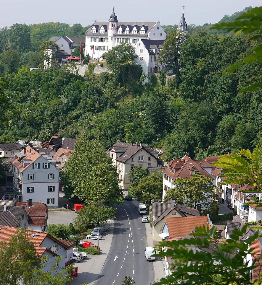 Dorf und Schloss Schönberg